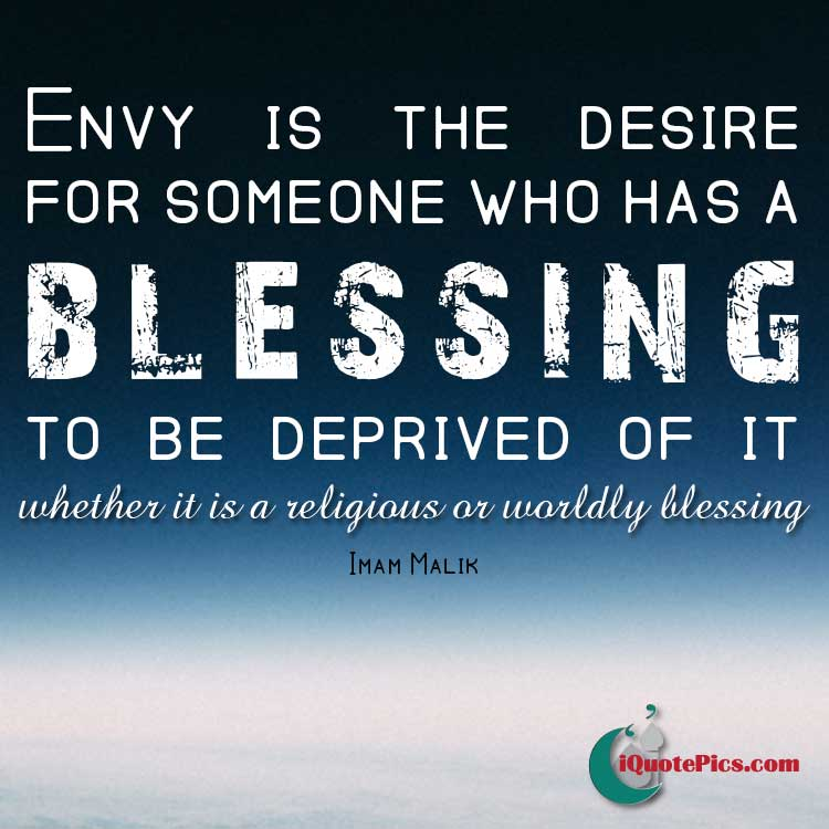 Envy Quotes: Envy Rids Blessings