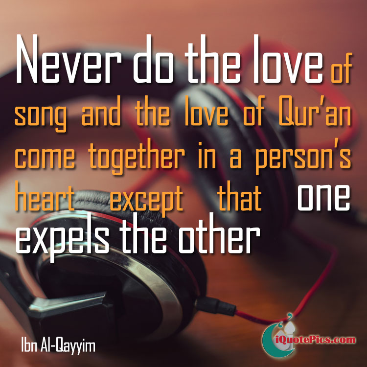 Music And Quran Ibn Al Qayyim