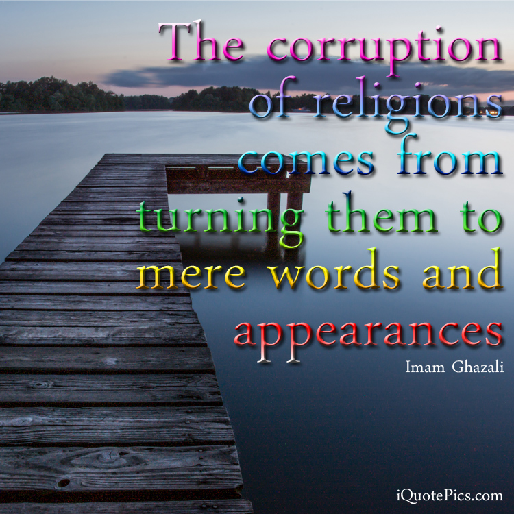 Quotes About Corruption: Corruption Of Religion