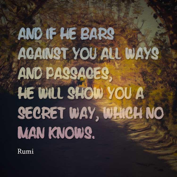 Secret Way Jalal Ad Din Muhammad Rumi